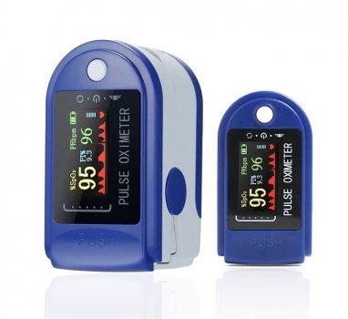 Пульсоксиметр на палец для измерения сатурации Oximeter AD807