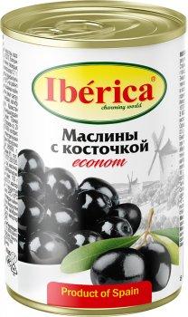 Маслины Iberica Econom с косточкой по 280 г (8436024297706)