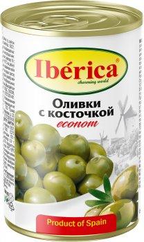 Оливки Iberica Econom з кісточкою по 280 г (8436024297737)