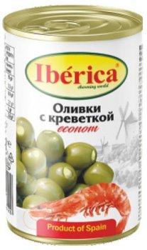Оливки Iberica фаршированные креветками 280 г (8436024298420)