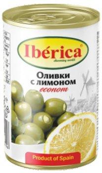 Оливки Iberica фаршированные лимоном 280 г (8436024298406)