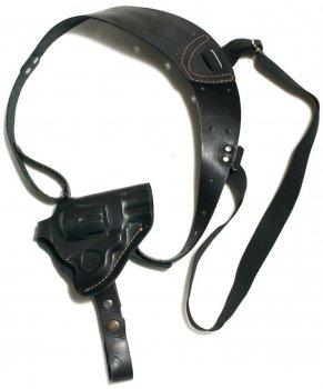 Кобура Grizzly оперативна Револьвер 2,5 формована (шкіра, чорна)