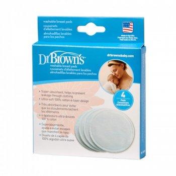 Вкладиші для бюстгальтера Dr.Browns®, 4 шт. в упаковці
