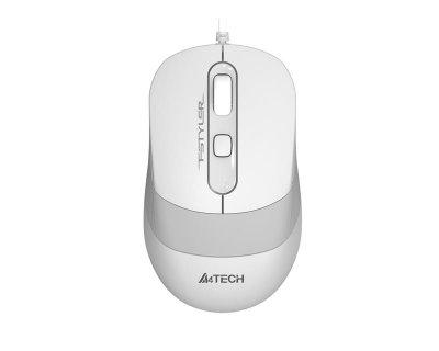 Миша A4Tech FM10S White USB