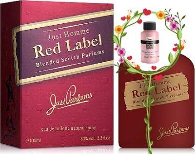 Мужская парфюмерия Туалетная вода Just Parfums Red Label man edt 100ml (8903386004643)