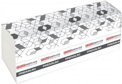 Упаковка паперових рушників PRO service Premium двошарове Z-складання 200 аркушів 21 шт (33702203)
