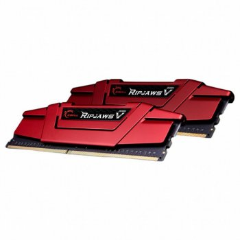 Модуль пам'яті для комп'ютера DDR4 16GB (2x8GB) 3200 MHz RipjawsV G. Skill (F4-3333C16D-16GVR)
