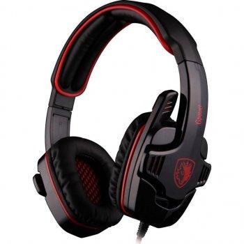 Навушники SADES Gpower Black/Red (SA708-B-R)