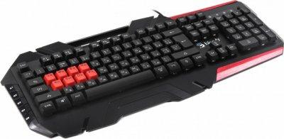 Клавіатура A4tech Bloody B3590R, USB Black Ігрова, 8-LK Libra Brown Switch RGB Keyboard, 8-LK клави