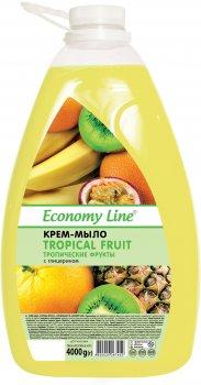 Крем-мило Economy Line Тропічні фрукти 4 кг (4820020267452)