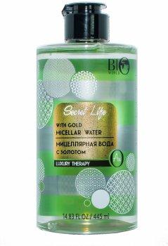Міцелярна вода Bio World Luxury Therapy із золотом 445 мл (4815412000328)