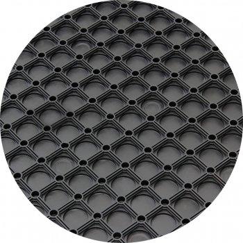 Килим гумовий Київгума Maxi + квадратний стільник суцільний 150х100х1.6 см (4823060813238)