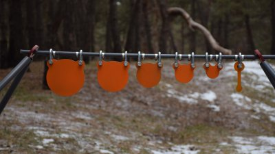 Стійка Середня з гонгами 25,50,75,100,125,150 мм Сателіт (640)