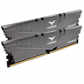 Модуль пам'яті для комп'ютера DDR4 16GB (2x8GB) 2666 MHz T-Force Vulcan Z Gray Team (TLZGD416G2666HC18HDC01)