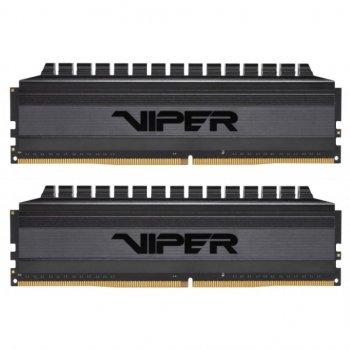 Модуль пам'яті для комп'ютера DDR4 16GB (2x8GB) 2600 MHz Viper Blackout Patriot (PVB416G360C7K)