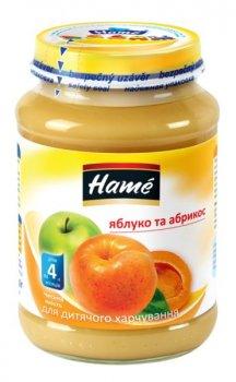 Фруктове пюре Hame яблуко і абрикос 190 г (23600061760101)