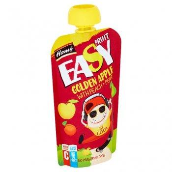 Пюре Hame EasyFruit Pouch яблуко з персиком грушею і бананом 110 г (26520500002083)