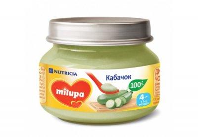 Пюре Milupa 80 г Кабачок (0222)