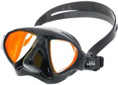 Маска Marlin Mini с просветленными стеклами Black (013639)