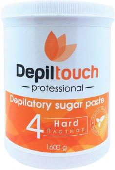 Цукрова паста для депіляції Depiltouch Professional тверда 1600 г (4630010605696)