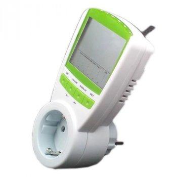 Розетковий лічильник електроенергії побутовий Kkmoon TS-838, энергометр ватметр до 16А (100266)