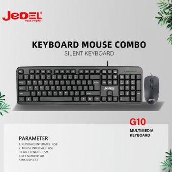 Дротова клавіатура і миша Jedel COMBO G10 комплект (GK100)