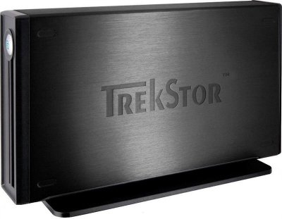 "Накопичувач зовнішній HDD 3.5"" 500GB USB TrekStor DataStation maxi Light Black (TS35-500MLXB) - Refubrished"