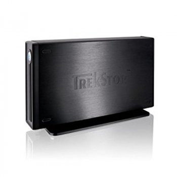 "Накопичувач зовнішній HDD 3.5"" USB 750GB TrekStor DataStation maxi Ligh Black (TS35-750MLB) - Refubrished"