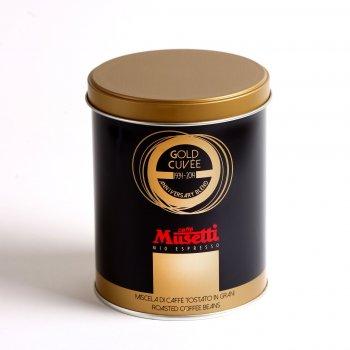 Кава в зернах Caffe Musetti Gold Cuvee ж/б 0,25 кг