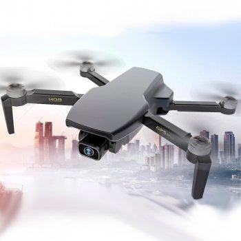 Дрон Blitz SG108 GPS Brushless с 5G WiFi 4K камера, 25 мин. полет + кейс. Черный