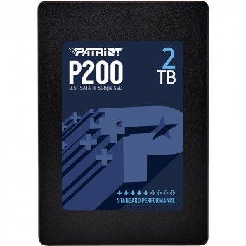 "Накопичувач SSD Patriot P200 2TB 2.5"" SATAIII 3D TLC (P200S2TB25)"
