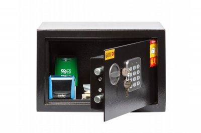 Мебельный сейф GUTE ЯМХ 20Е Черный (070212)