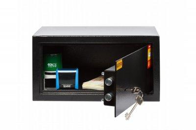 Офисный сейф GUTE ЯМХ 22К Черный (07025)