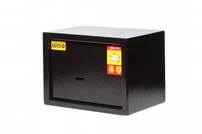 Мебельный сейф GUTE ЯМХ 17К Черный (07023)