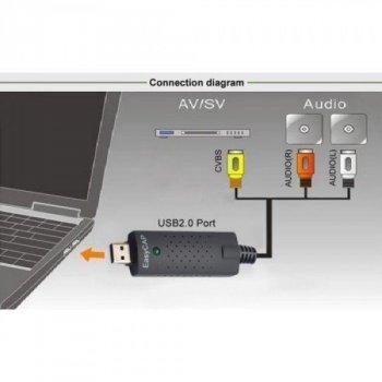 Карта видеозахвата USB адаптер EasyCap (000126)