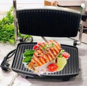 Кухонний прижимний гриль з антипригарним покриттям WIMPEX BBQ WX-1060 MAX (2125889)