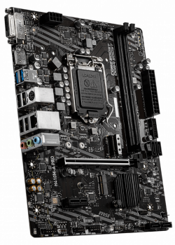 Материнская плата MSI H410M-A Pro (s1200, Intel H410, PCI-Ex16)