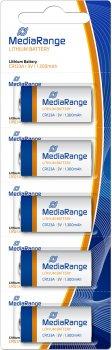 Литиевая батарейка MediaRange CR123A 3 В 5 шт (MRBAT150)