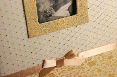 Весільний Фотоальбом Chako Silvia 32 на 34 см 100 стр золотий