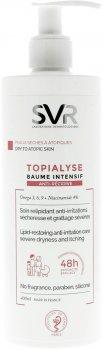 Интенсивный бальзам для лица и тела SVR Topialyse Baume Intensif Anti-Recidive для сухой и чувствительной кожи 400 мл (3401360060746)