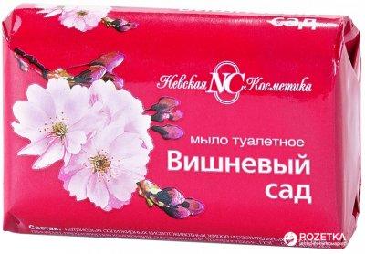 Упаковка мыла Невская Косметика Вишневый сад 90 г х 72 шт (14600697101801)