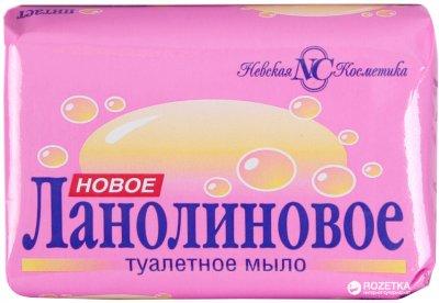 Упаковка мыла Невская Косметика Новое Ланолиновое 90 г х 72 шт (14600697101634)