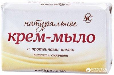 Упаковка крем-мыла Невская Косметика Натурального с протеинами шелка 90 г х 72 шт (14600697102013)