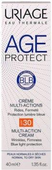 Многофункциональный крем для лица Uriage Age Protect Crème Multi-Actions SPF 30 Лифтинг+Увлажнение для нормальной и сухой кожи 40 мл (3661434006418)