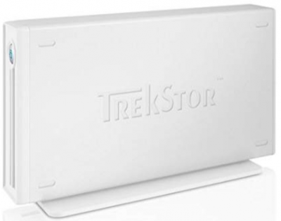 "Жорсткий диск Trekstor DataStation maxi m.ub 3.5"" 500Gb USB 2.0 White (TS35-500MMUW) Refurbished"