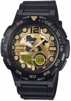 Чоловічі годинники Casio AEQ-110BW-9AVEF