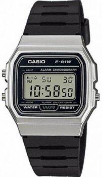 Чоловічі годинники Casio F-91WM-7AEF