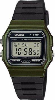 Чоловічі годинники Casio F-91WM-3AEF