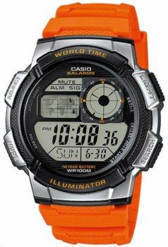 Чоловічі годинники Casio AE-1000W-4BVEF