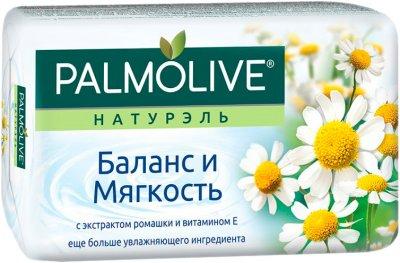 Мило Palmolive Натурель туалетне Баланс і м'якість з екстрактом ромашки і вітаміном Е 90 г (8693495032742)
